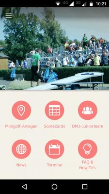 Die MinigolfApp